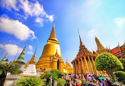 泰国曼谷芭提雅沙美岛8日游