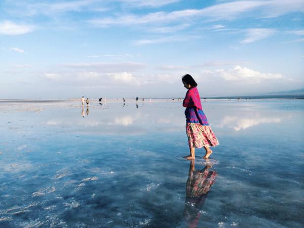 还去什么玻利维亚,中国的茶卡盐湖一样美到你哭!