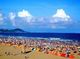 巴州和硕县金沙滩